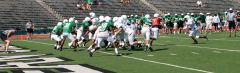 Mean Green 1st Scrimmage 2011
