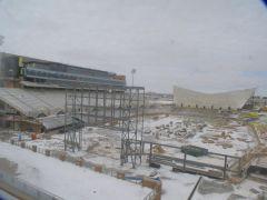 New Stadium Snow Pic