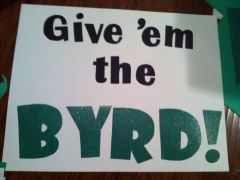 Give 'em the BYRD!