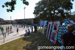 Mean Green view from Hill