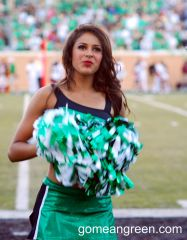 UNT Cheerleader
