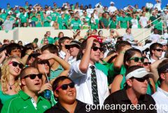 UNT Student Section vs. TSU2