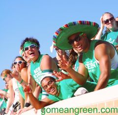 OLE MEAN GREEN!!