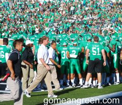 Mean Green versus TSU 2012