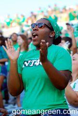 Mean Green Fans clap your hands!