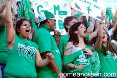 Mean Green Fans vs. Troy 2012