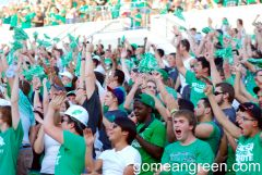 UNT Student Section vs. Troy