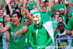 Mean Green Mask and friends