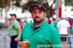 All About UNT enjoys a brew