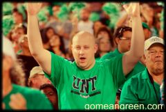 Small moment of elation after UNT TD