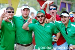 Mean Green Fans reunite with high school friends in Houston