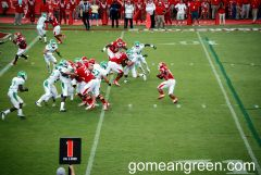 UNT D-Line tries to penetrate
