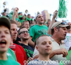 UNT Fans turned out loud and proud