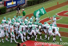 Mean Green Flag waiving proudly by Nick