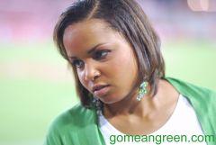 Mean Green Fan after Houston score