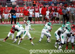 #7 Thompson aims for the receiver