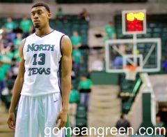 Tony Mitchell of North Texas