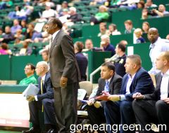 UNT Coach Tony Benford and staff