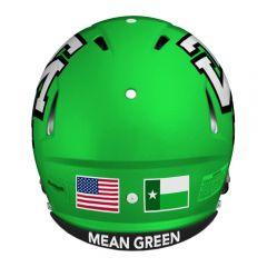 2015 North Texas helmet back