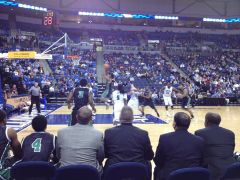 Chris Jones Going In For A Layup