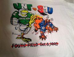 UNT VS SMU T-Shirts
