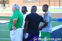 RV and UNT Players scout out the talent