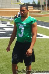 Brelan Chancellor picture from 2013 UNT Media Day
