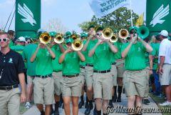 UNT Green Brigade1