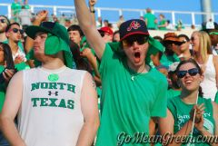 UNT Student Section 17
