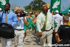 UNT WR Coach Mike Grant