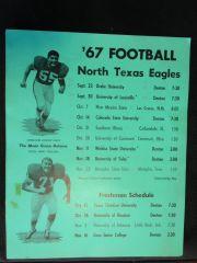 '67 Football Schedule