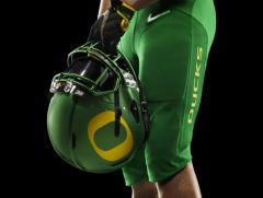 Oregon's traditional helmet for CFP