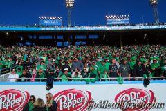 UNT Mean Green Fans fill Cotton Bowl