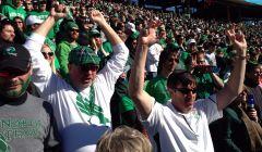 UNT Fans At Cotton Bowl2
