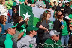 UNT Battle Flag At Heart Of Dallas Bowl