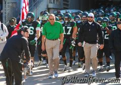 UNT enters The through The Cotton Bowl tunnel