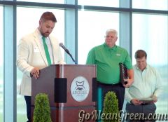 Scott Hall inducted To UNT Hall Of Fame