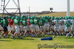 UNT Team Huddle