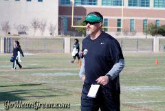 UNT Coach Kevin Patrick