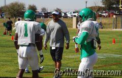 UNT Coach Perry Carter