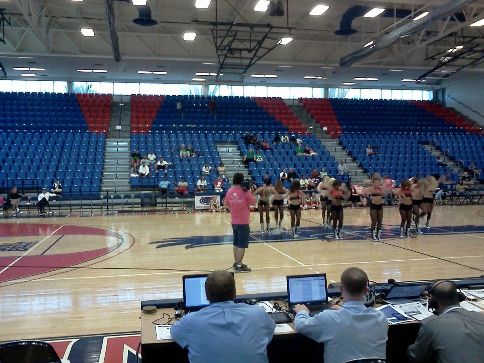 Basketball Arena Fans Fau Arena Basketball Game vs