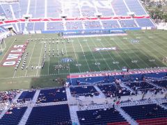 FAU game 7 minutes before Kickoff
