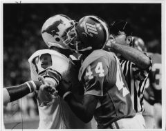 North Texas Football Game Against Southern Methodist University, 1976