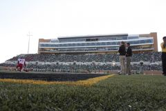 Apogee Stadium from endzone corner