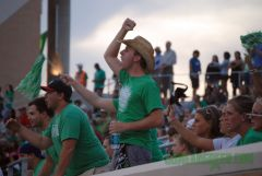Mean Green Fans in Apogee