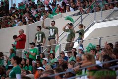 Apogee 2011 UNT Student Section