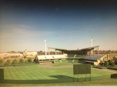 Newly Designed Mean Green Baseball Park Photo 2