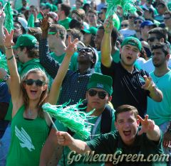 UNT Students At SMU game 2014