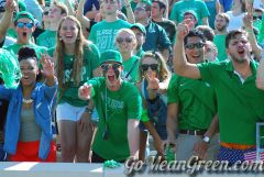 UNT Student Section Vs SMU