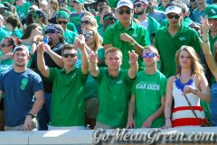 UNT Student Section Vs SMU2